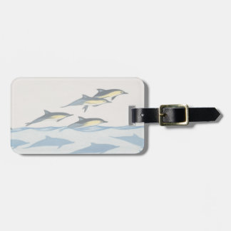 Common Dolphins Luggage Tag