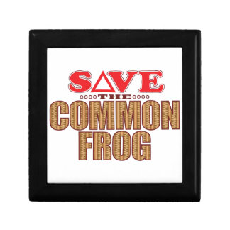 Common Frog Save Gift Box