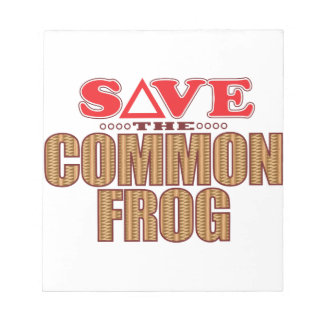 Common Frog Save Notepad