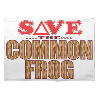 Common Frog Save Placemat
