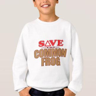 Common Frog Save Sweatshirt