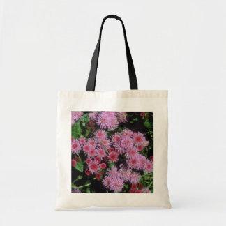 Common Garden Ageratum (Ageratum Houstonianum) Tote Bags