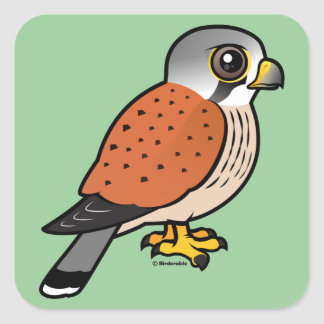 Common Kestrel Square Sticker