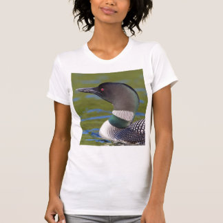 Common loon in water, Canada T-Shirt