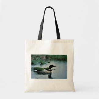 Common Loon on Water Budget Tote Bag