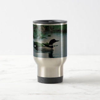 Common Loon on Water Coffee Mugs