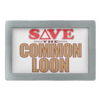 Common Loon Save Belt Buckles