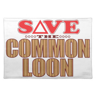 Common Loon Save Placemat