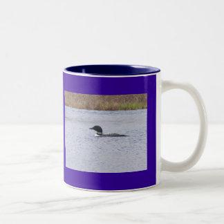 Common Loon Two Tone Mug