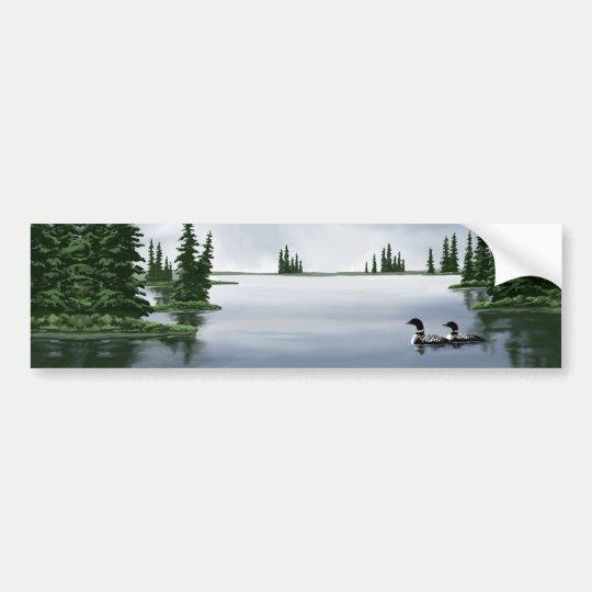 Common Loons Bumper Sticker