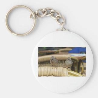Common Nightingale bird Key Chains