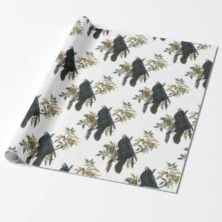 Common Raven by Audubon Wrapping Paper