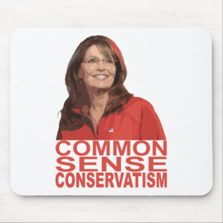 Common Sense Conservatism Mouse Pad