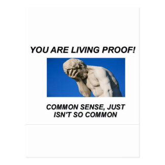 Common Sense Postcard