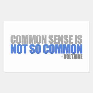 Common Sense Stickers