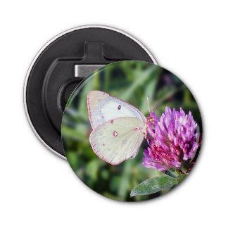 Common Sulphur Butterfly Magnet Bottle Opener