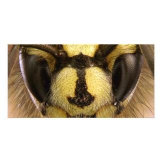 Common Wasp Vespula Vulgaris Customized Photo Card