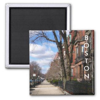 Commonwealth Avenue Square Magnet