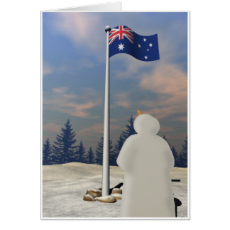 Commonwealth Blue Ensign Greeting Card