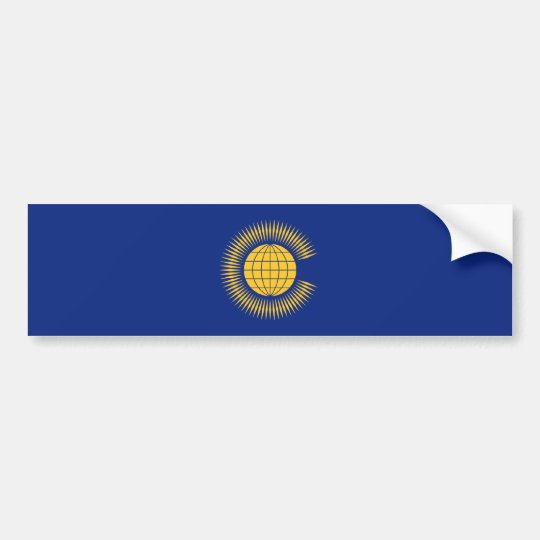 Commonwealth Flag. British, United Kingdom Bumper Sticker