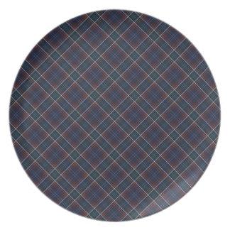 Commonwealth of Massachusetts Tartan Plates