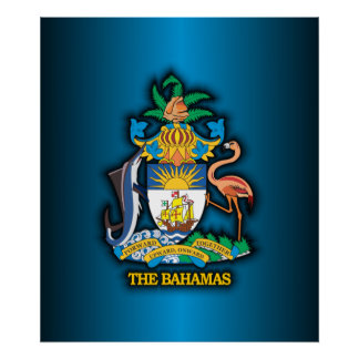 Commonwealth of the Bahamas COA Poster