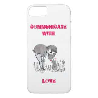 Communicate with love iPhone 8/7 case