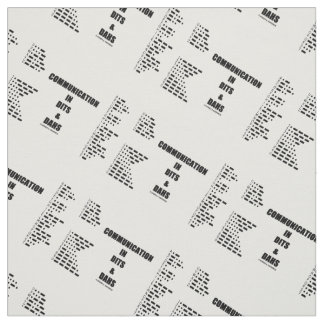 Communication In Dits And Dahs Morse Code Humor Fabric