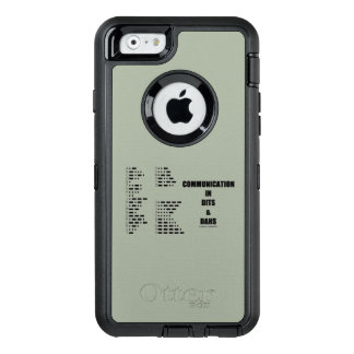 Communication In Dits And Dahs Morse Code Humor OtterBox iPhone 6/6s Case