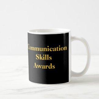 Communication Skills Awards Office Humor Award