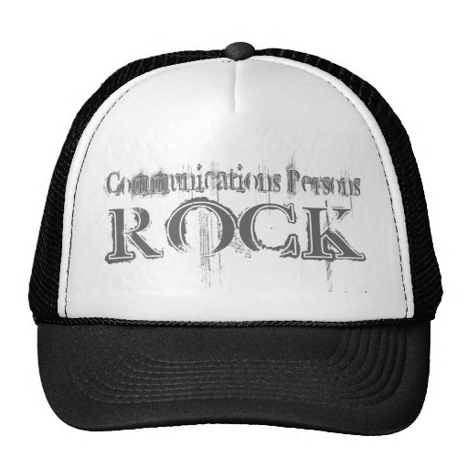 Communications Persons Rock Mesh Hats