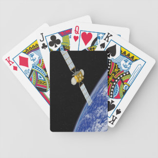 Communications Satellite Bicycle Playing Cards