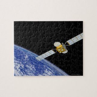 Communications Satellite Jigsaw Puzzle