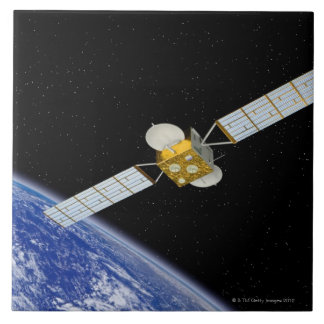 Communications Satellite Tile
