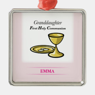 Communion Body and Blood Granddaughter Christmas Ornament