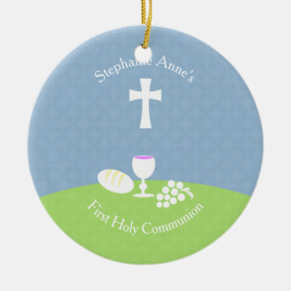 Communion Bread of Life Christmas Ornament