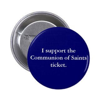 Communion of Saints '08 6 Cm Round Badge