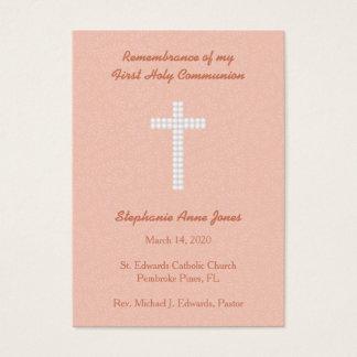 Communion Peach Vines and Stripes