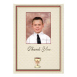 Communion Thank You Photo Card Personalised Announcements