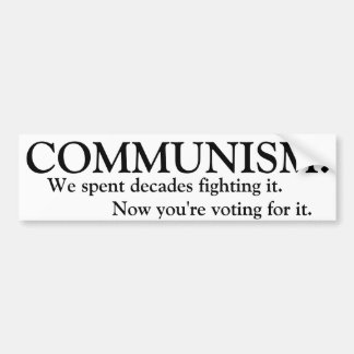 Communism Bumper Sticker