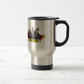 Communism It's a Party Stainless Steel Travel Mug