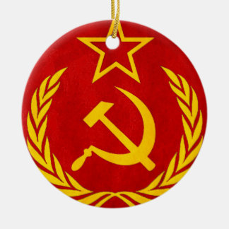 communism Russian symbol Christmas Ornament