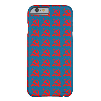 Communism sign of hammer vector barely there iPhone 6 case