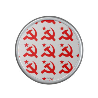 Communism sign of hammer vector speaker