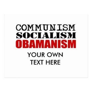 COMMUNISM, SOCIALISM, OBAMANISM POSTCARDS