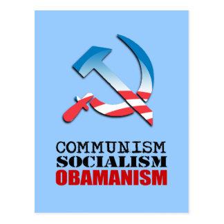 COMMUNISM, SOCIALISM, OBAMANISM POST CARDS