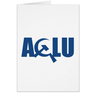 Communist ACLU Greeting Cards