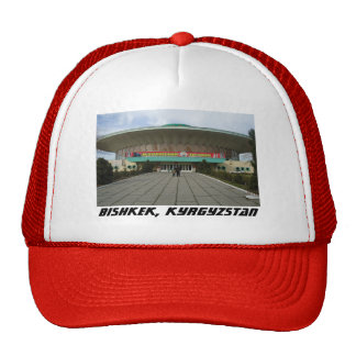 Communist Architecture, Bishkek, Kyrgyzstan Circus Cap
