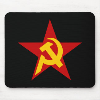 Communist DHKC Star Hammer & Sickle PC Mouse Mat
