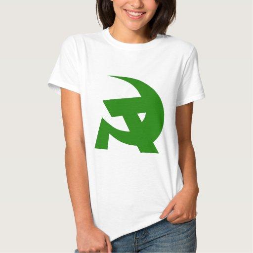 Communist DKP Style Hammer & Sickle Tee Shirts